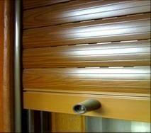cortina simil madera