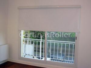 cortinas black out cubriendo balcon