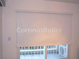 cortinas black out roller screen blancas para hogar