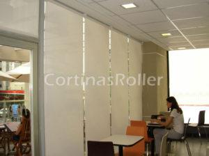 juego de cortinas blancas profesionales