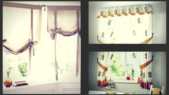 Cortinas para la cocina sol tecnico for Cortinas visillo modernas