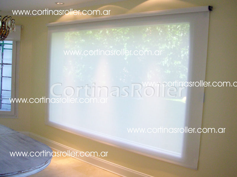 Cortinas Roller Screen para living