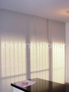 cortinas tipo paneles orientales