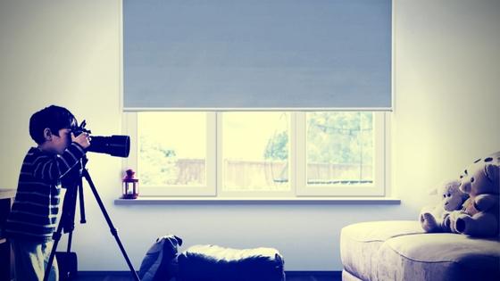 cortinas para dormitorios de chicos