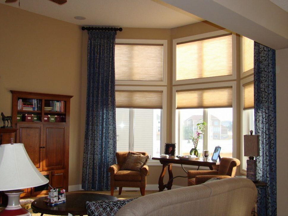 cortinas para living clasico